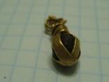 Подвеска ЧК (золото) photo 3