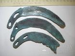 Культура Ноуа, серп Карпатского типа - 3шт photo 3