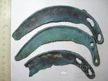 Культура Ноуа, серп Карпатского типа - 3шт photo 7