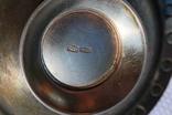 Серебрянный столовый набор с эмалью и чернью. photo 12