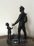 Пришел отец с войны (Касли, 1975г.) 16х27см. photo 1