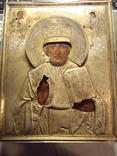 Св.Николай Мирликийский Чюдотворец серебро 84 пробы. photo 1
