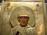 Св.Николай Мирликийский Чюдотворец серебро 84 пробы. photo 2