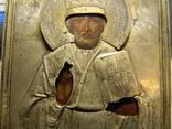 Св.Николай Мирликийский Чюдотворец серебро 84 пробы. photo 3