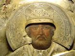 Св.Николай Мирликийский Чюдотворец серебро 84 пробы. photo 5