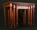 Винтажный тройной столик. Европа. (0650) photo 25