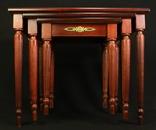 Винтажный тройной столик. Европа. (0650) photo 26