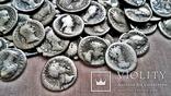 Коллекция Римских Антонианов, Денариев, Силикв 350 штук, 936 гр. photo 7