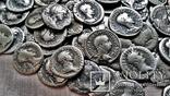 Коллекция Римских Антонианов, Денариев, Силикв 350 штук, 936 гр. photo 8