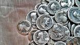 Коллекция Римских Антонианов, Денариев, Силикв 350 штук, 936 гр. photo 18
