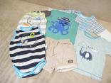 Деская одежда для мальчиков 6-9 месяцев. 8 предметов+ бонус.