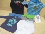 Фирменная одежда для мальчиков 12-18 месяцев. 9 предметов.