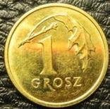 1 грош Польща 2017, фото №3