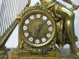 Бронзовые часы с вазами , более 30 кг photo 2