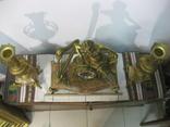 Бронзовые часы с вазами , более 30 кг photo 6