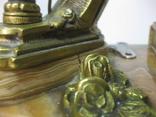 Бронзовые часы с вазами , более 30 кг photo 7