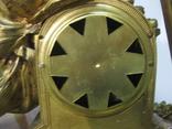 Бронзовые часы с вазами , более 30 кг photo 11