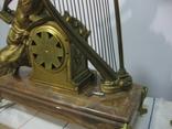 Бронзовые часы с вазами , более 30 кг photo 12