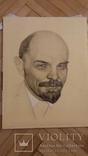 Ленин (печать на холсте,на подрамнике). photo 1