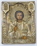 Икона св. Пантелеймона в окладе photo 1