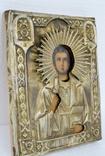 Икона св. Пантелеймона в окладе photo 2