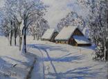 Зимний пейзаж 30x40см. photo 1