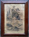 """Картина """"Сельский пейзаж"""" 1910 год photo 1"""