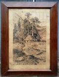 """Картина """"Сельский пейзаж"""" 1910 год photo 2"""