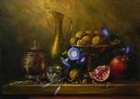 """Цветы и плоды"" х.м. 50х70 см., Новиков Ю. photo 1"