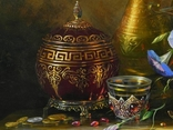 """Цветы и плоды"" х.м. 50х70 см., Новиков Ю. photo 3"
