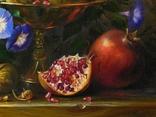 """Цветы и плоды"" х.м. 50х70 см., Новиков Ю. photo 4"