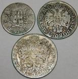 1, 2 и 4 шиллинга, Гамбург, 1727/38 г.г. photo 2