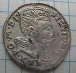 Трояк 1595 года Литва Сигизмунд III Ваза photo 4