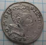 Трояк 1595 года Литва Сигизмунд III Ваза photo 5