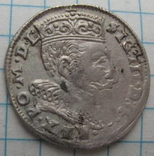 Трояк 1595 года Литва Сигизмунд III Ваза photo 6