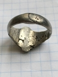 Серебряный перстень 14 век орда photo 3