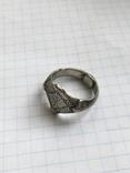 Серебряный перстень 14 век орда photo 4