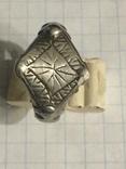 Серебряный перстень 14 век орда photo 1