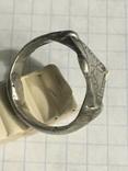 Серебряный перстень 14 век орда photo 5