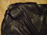 Фирменная кожаная куртка XL photo 4