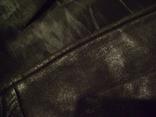 Фирменная кожаная куртка XL photo 13