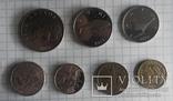 Хорватія - Підборка монет: 5, 2, 1 куна, 50, 20, 10, 5 липа, фото №4