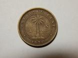 1/2 цента, 1937 г Либерия