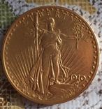 Золотая монета 20 долларов Сент-Годенса photo 1