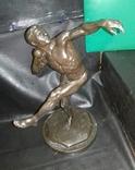 Скульптура '' Ядрометатель'' Е.Янсон 1924 г. Красный Выборжец. photo 3
