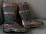 Adventure line Waterproof - кожаные сапоги разм.37