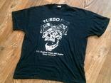 Turbo Pub - черная футболка разм.46-48