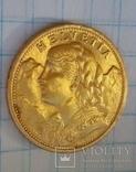 20 швейцарских франков 1897, фото №2
