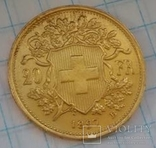 20 швейцарских франков 1897, фото №9
