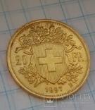 20 швейцарских франков 1897, фото №11